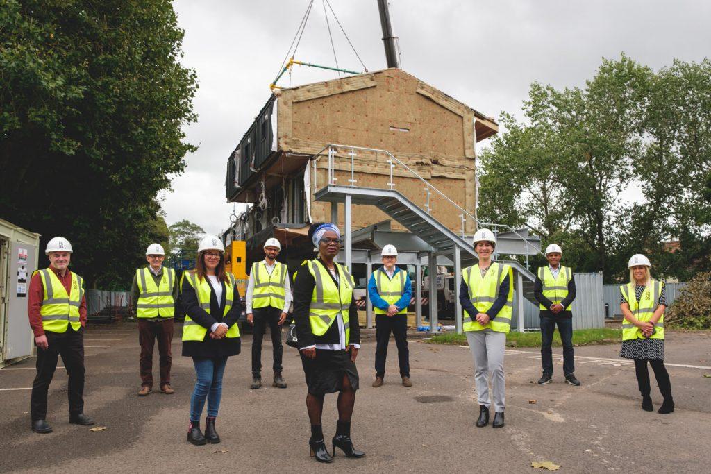 Zedpods new housing scheme: Hope Rise